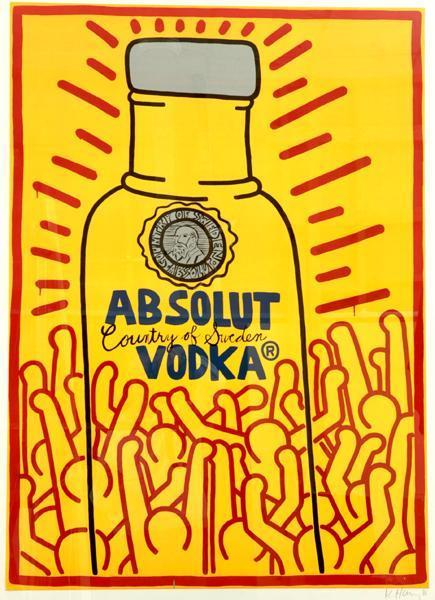 Keith Haring - Absolut-1986