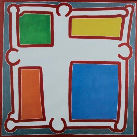 Keith Haring-Keith Haring - Senza titolo-