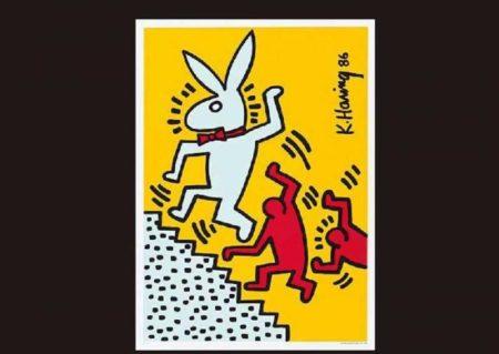 Keith Haring-Keith Haring - Rabbit (Poster)-1986