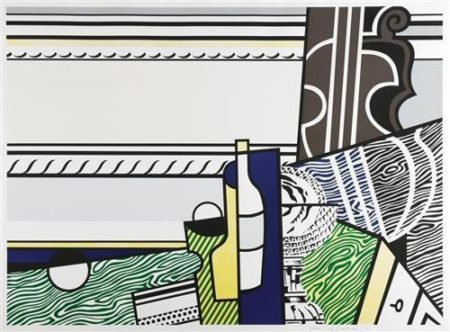 Roy Lichtenstein-Still life with crystal bowl-1976