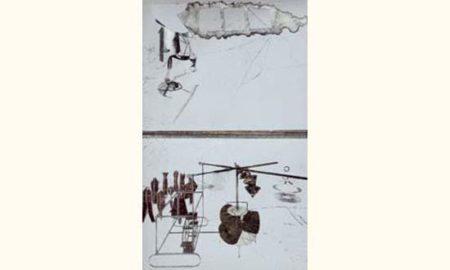 Marcel Duchamp-La Mariee Mise A Nu Par Ses Celibataires, Meme (Moulin a cafe)-1939