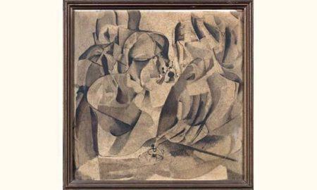 Marcel Duchamp-Portrait de joueurs d'echecs-1937