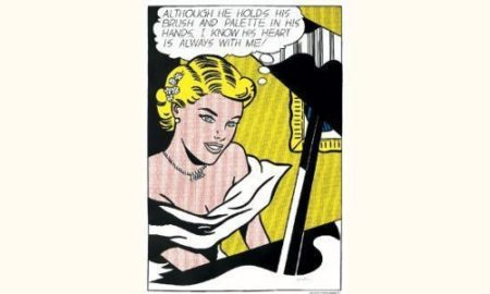 Roy Lichtenstein-Girl at Piano-