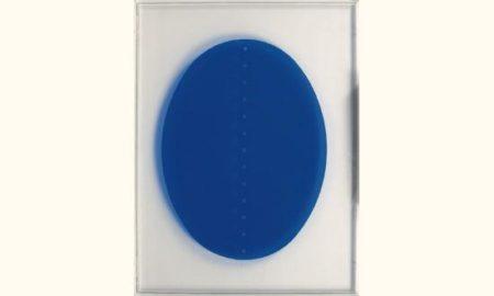 Lucio Fontana-Concetto spaziale in Azzurro-1967