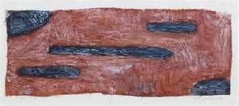 Paul Klee-Umgelegtes (Things laid down)-1934