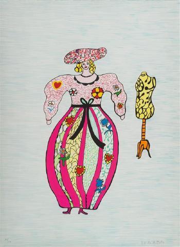 Niki de Saint Phalle-La couturiere-1993