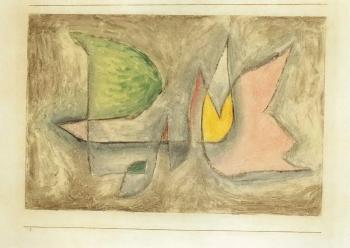 Paul Klee-Groupe D'arbres-1931