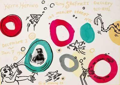 Keith Haring-Keith Haring - Tony Shafrazi Gallery-1988