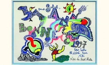 Niki de Saint Phalle-Oiseaux et tortue-1997