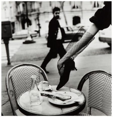 Helmut Newton-Hand In Shoe (1991)-1991