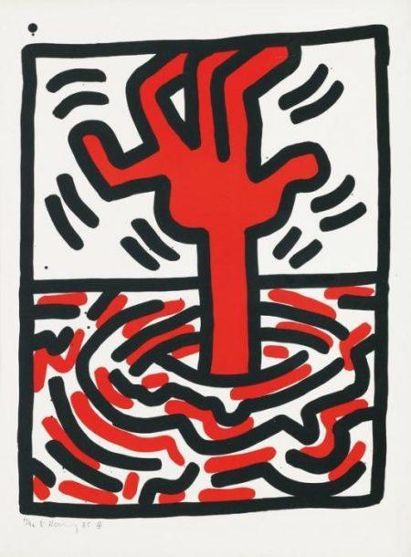 Keith Haring-Keith Haring - Ludo Pl. V-1985