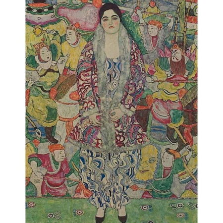 Gustav Klimt-Portrait of Marie Beer No. 24-1916