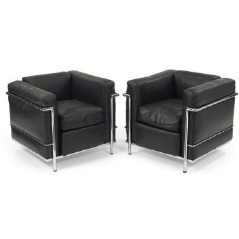 Le Corbusier-LC/2 chairs-