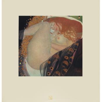 Gustav Klimt-Danae-
