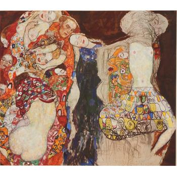 Gustav Klimt-Bridal Progress (The Bride, No. 30)-1917