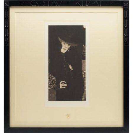 Gustav Klimt-Portrait-