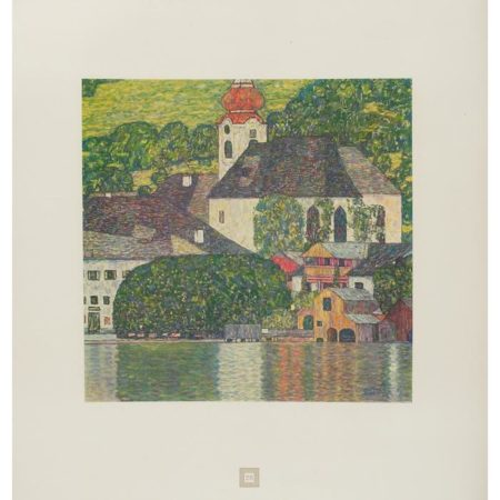 Gustav Klimt-(i) St. Wolfgang Church, No. 7; (ii) Malcesine on Lake Garda, No.28-