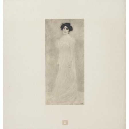 Gustav Klimt-(i) Portrait of Serena Lederer No. 6; (ii) Portrait of Old Lady No.19-
