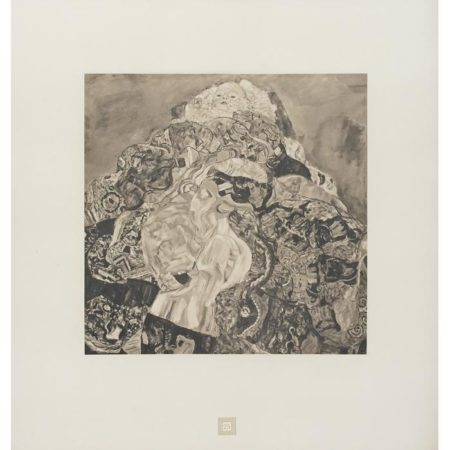 Gustav Klimt-(i) Cradle; (ii) Untitled, No. 25 and 27-