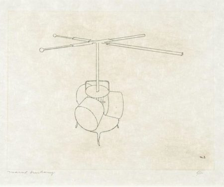 Marcel Duchamp-La Broyeuse a chocolat (The Chocolate Grinder) (1st state)-1965