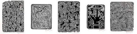 Keith Haring-Keith Haring - Stones-1989