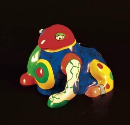 Niki de Saint Phalle-La Grenouille, (Grenouille Vase), (Vase la grenouille)-1986