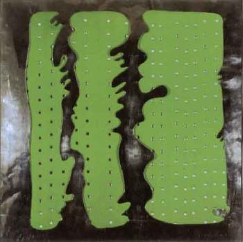 Lucio Fontana-Concetto spaziale, Green-1965