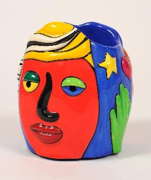 Niki de Saint Phalle-Me and you, (Vase)-