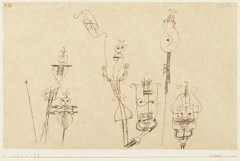 Paul Klee-Masken-1922