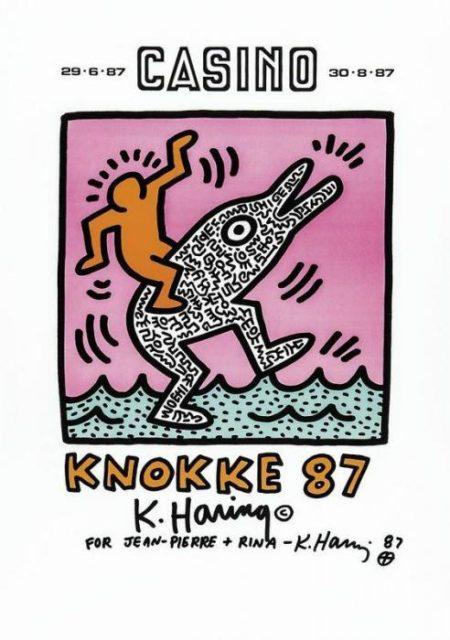 Keith Haring-Keith Haring - Casino Knokke '87-1987