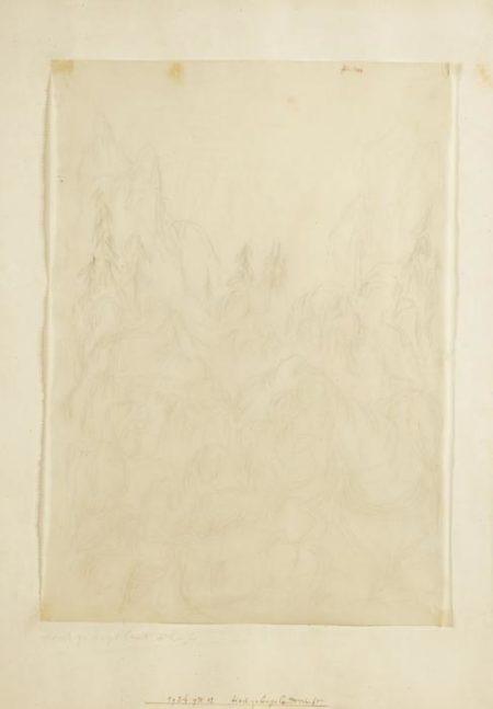 Paul Klee-Hochgebirglandschaft (Composition)-