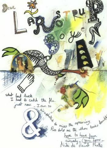 Niki de Saint Phalle-Komposition-1965