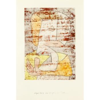 Paul Klee-Bei vergehender Zeit (As Time Passes By)-1940