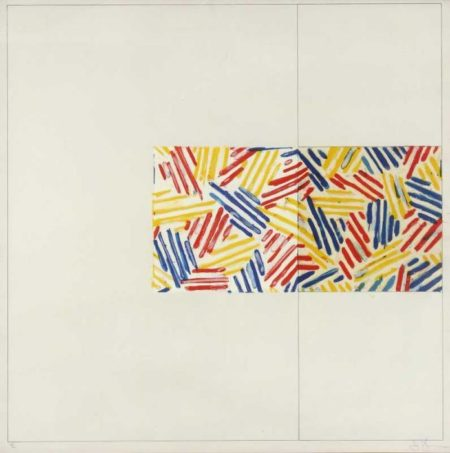 Jasper Johns-1975 #3 After Intitled (1976)-1976