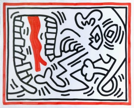 Keith Haring-Keith Haring - Three Lithographs-1985