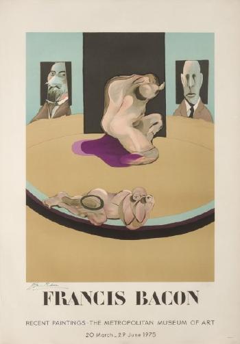Francis Bacon-Metroplitan museum-1975