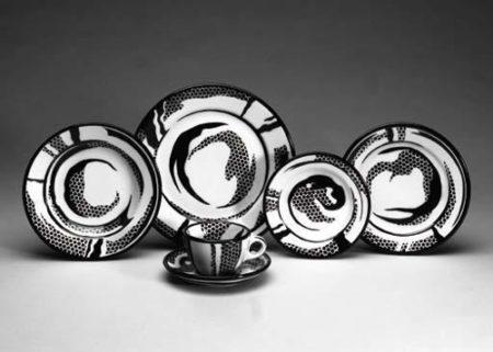 Dinnerware: Four settings-1966