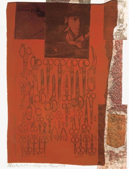 Robert Rauschenberg-Robert Rauschenberg - Two Reasons Birds Sing/ People/ Why can't you Tell # 1/ One More (From Nine Prints Series)-1979