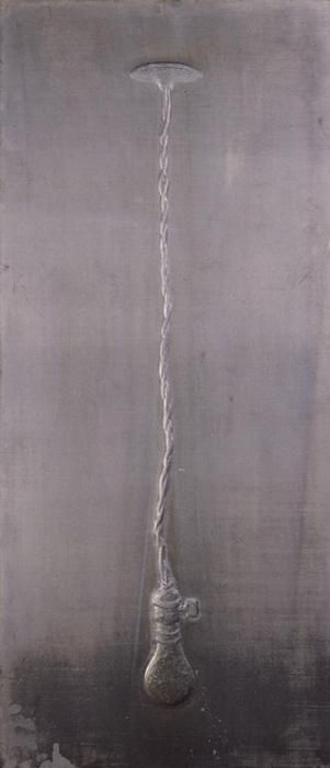 Jasper Johns-Light Bulb, From Lead Reliefs (ulae 75; G. 132)-1969