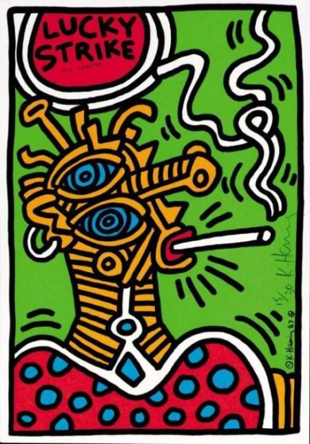 Keith Haring-Keith Haring -Lucky Strike: One Plate-1987