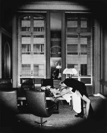 Helmut Newton-Office Love, Paris-1977