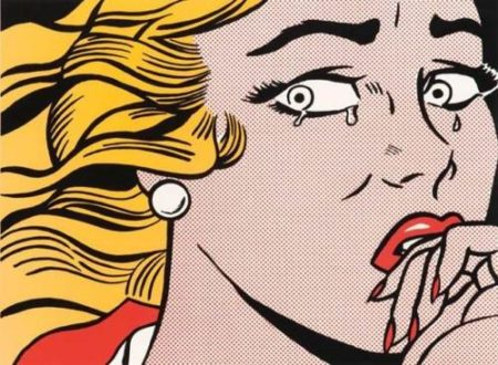 Roy Lichtenstein-Crying Girl-1984