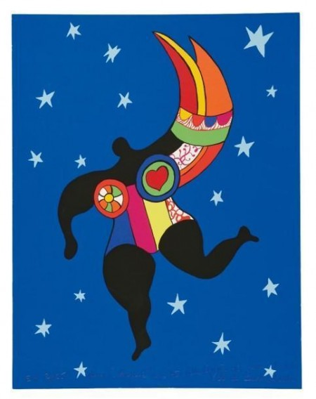 Niki de Saint Phalle-Grande Nana, (Nana ange)-1993