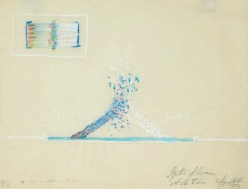 Yves Klein-Jets d'eau et de feu-1959