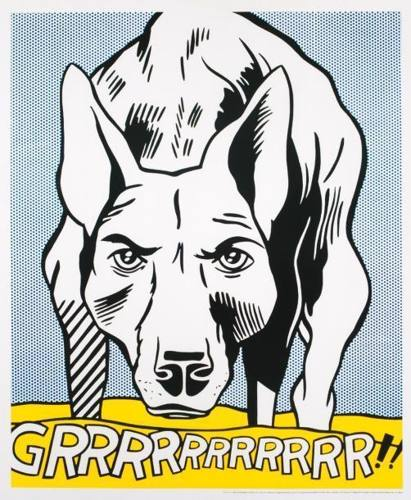 Roy Lichtenstein-Grrrrrrrrrrr !!-1993