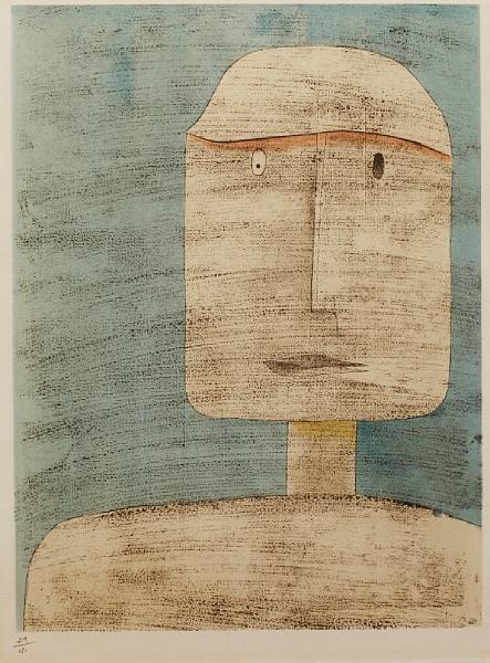 Paul Klee-Head-