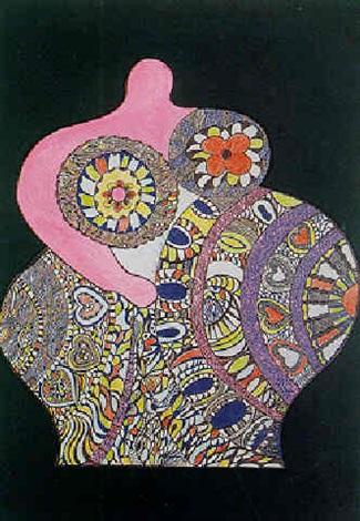 Niki de Saint Phalle-Nana millefiori-1970