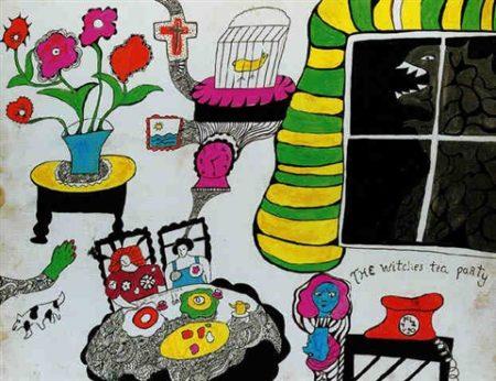 Niki de Saint Phalle-The witches tea party-1970