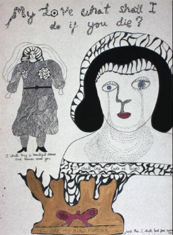 Niki de Saint Phalle-You Are my Bird Forever-1970