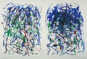 Joan Mitchell-Sunflower II-1992